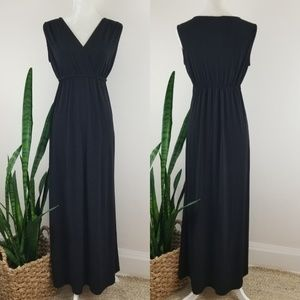 Philosophy V-Neck Maxi Dress